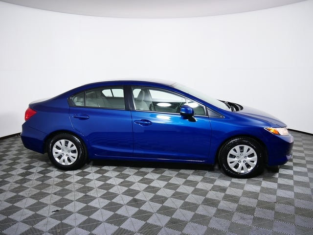 Used 2012 Honda Civic LX with VIN 19XFB2F55CE032263 for sale in Golden Valley, Minnesota