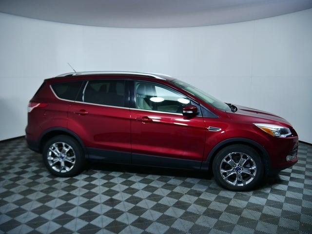Used 2014 Ford Escape Titanium with VIN 1FMCU0J90EUA62833 for sale in Minneapolis, Minnesota